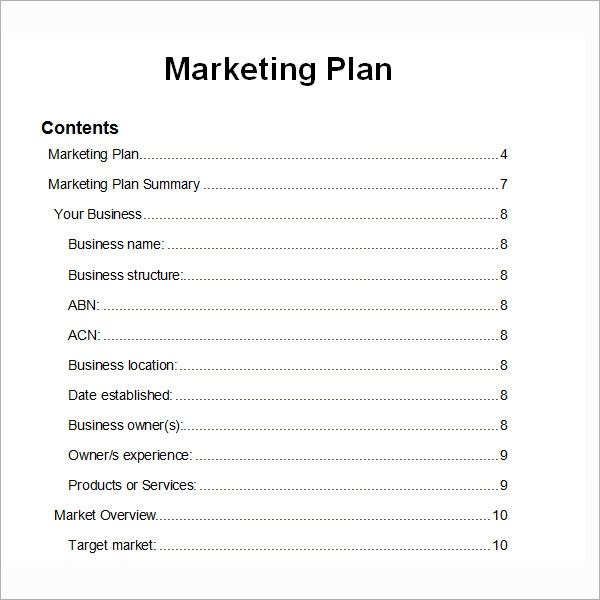 8  printable market research proposal examples