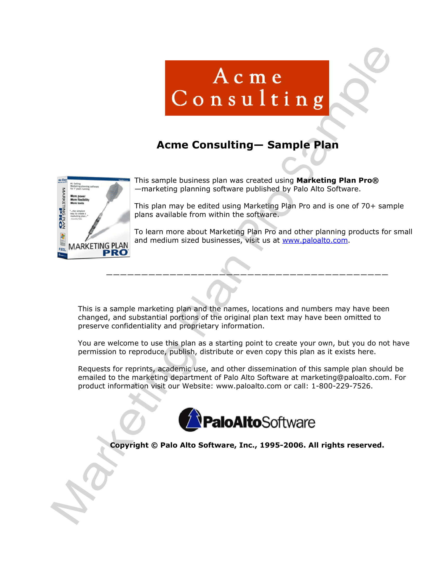marketing plan and strategies template example 01