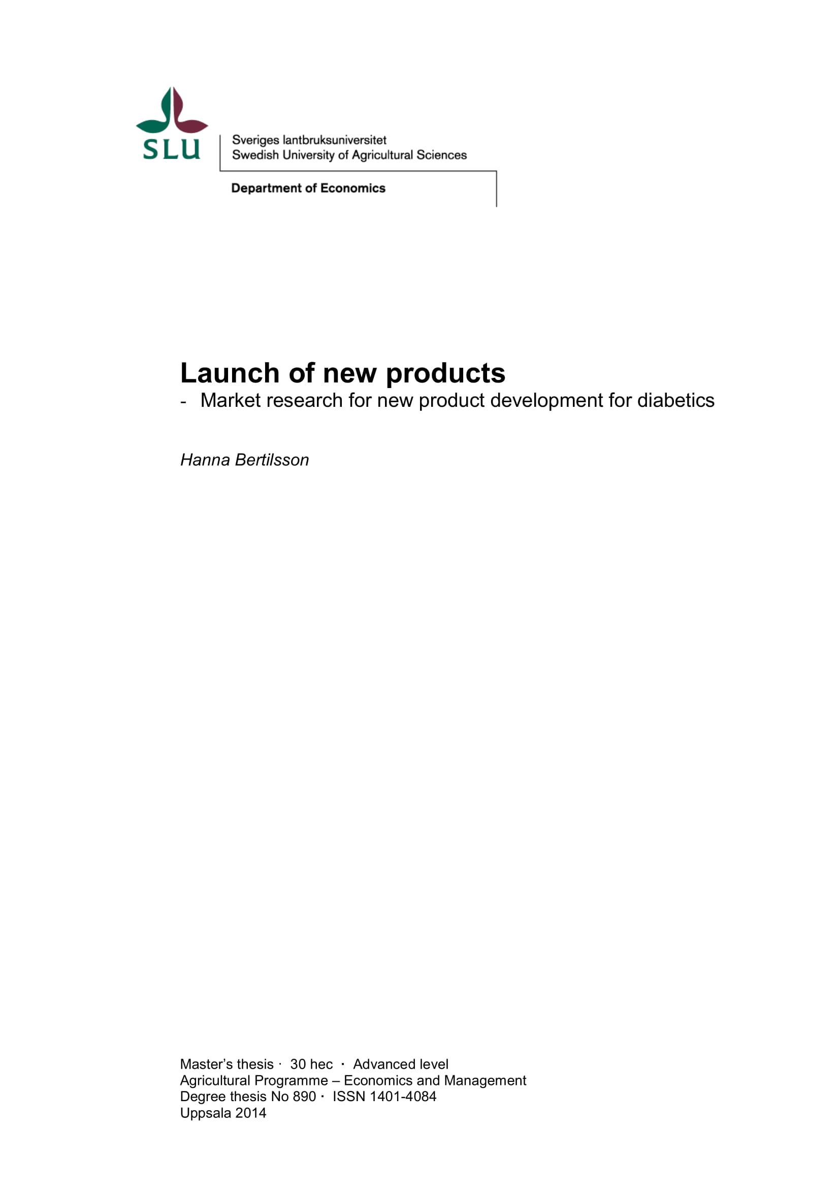 marketing planning and research for the launch of new products example 01