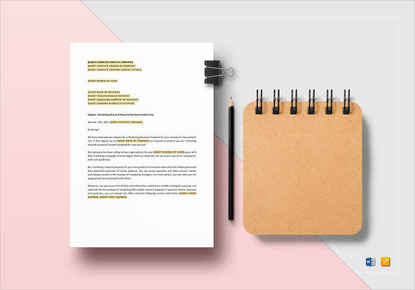 marketing research proposal example1