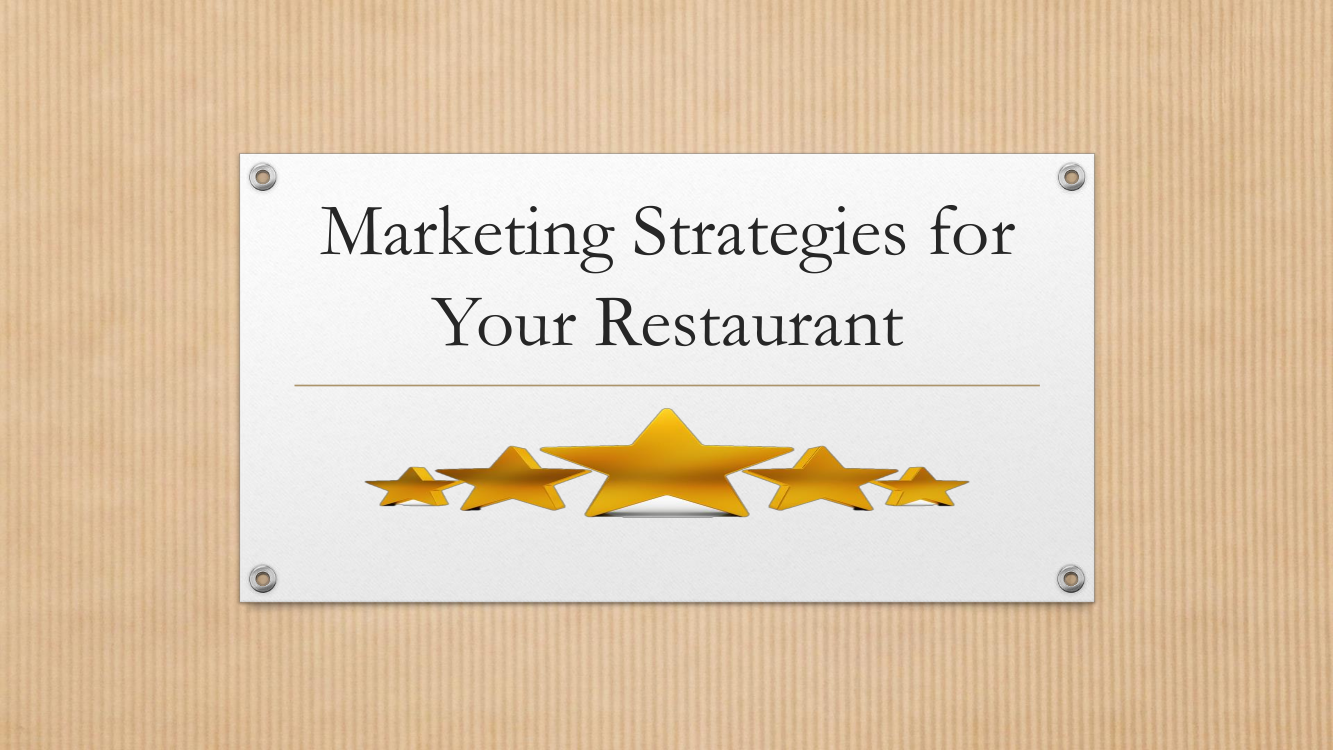 marketing strategies for your restaurant
