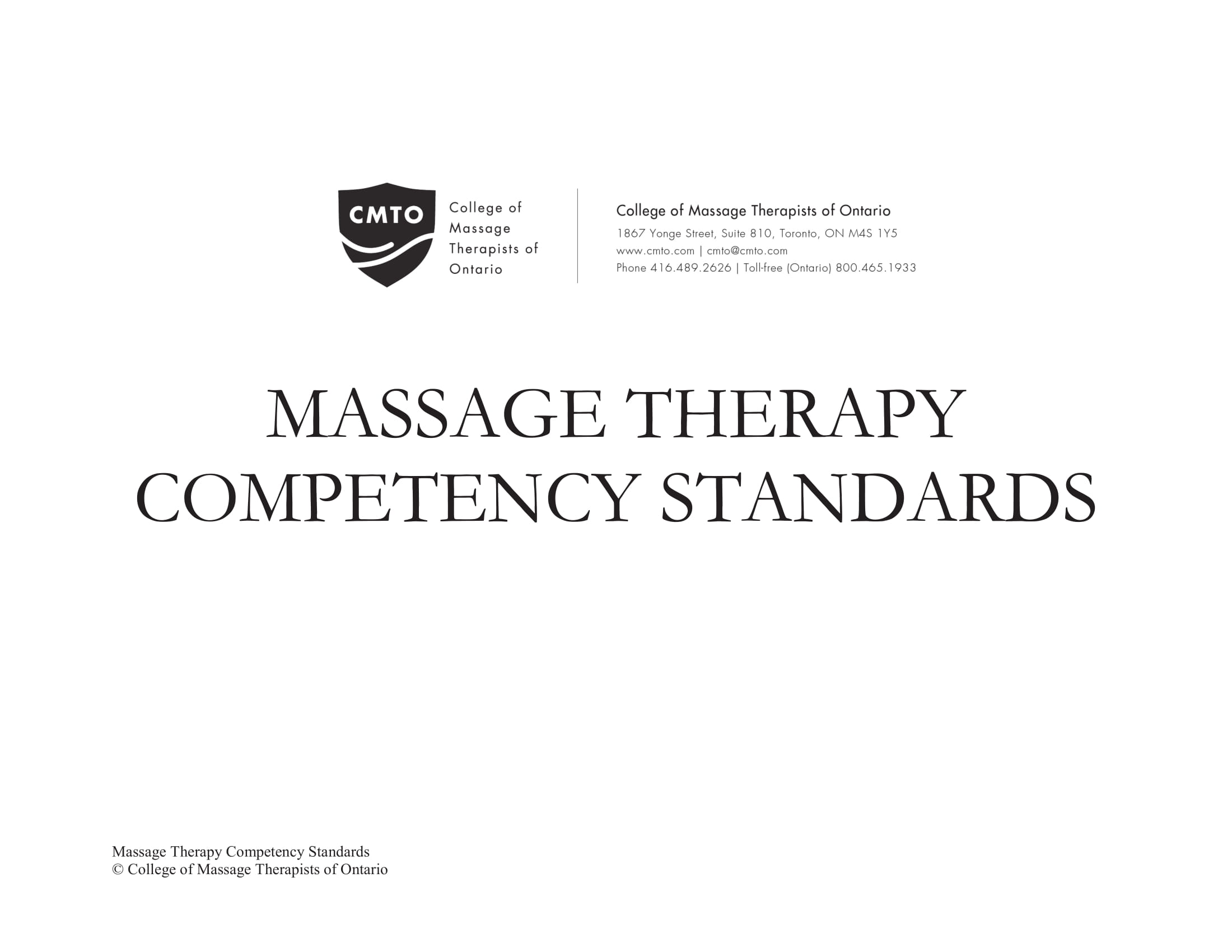 massage therapy competency standards for business plan guidance example 001
