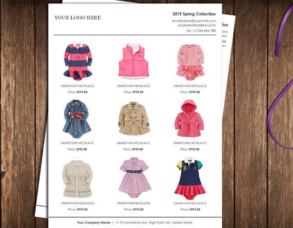 mini product wholesale catalog example