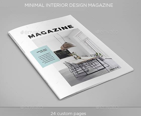 minimalistic interior design magazine