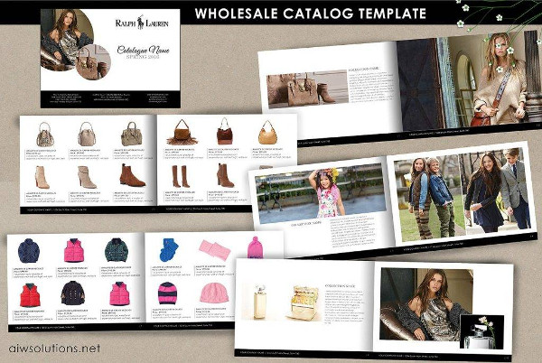 modern product catalog example