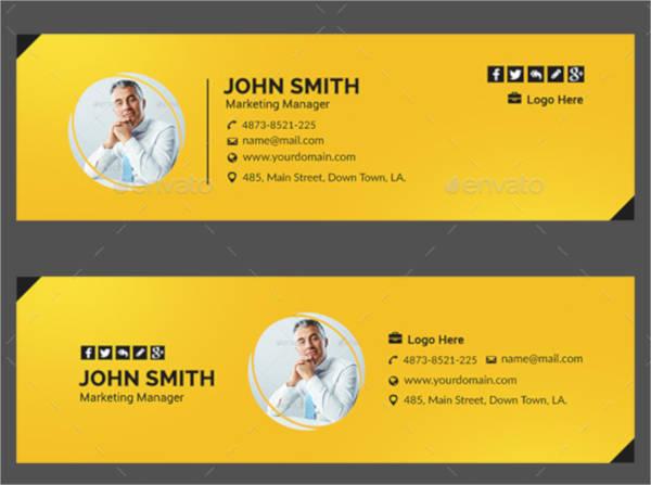 multi purpose printable email signature