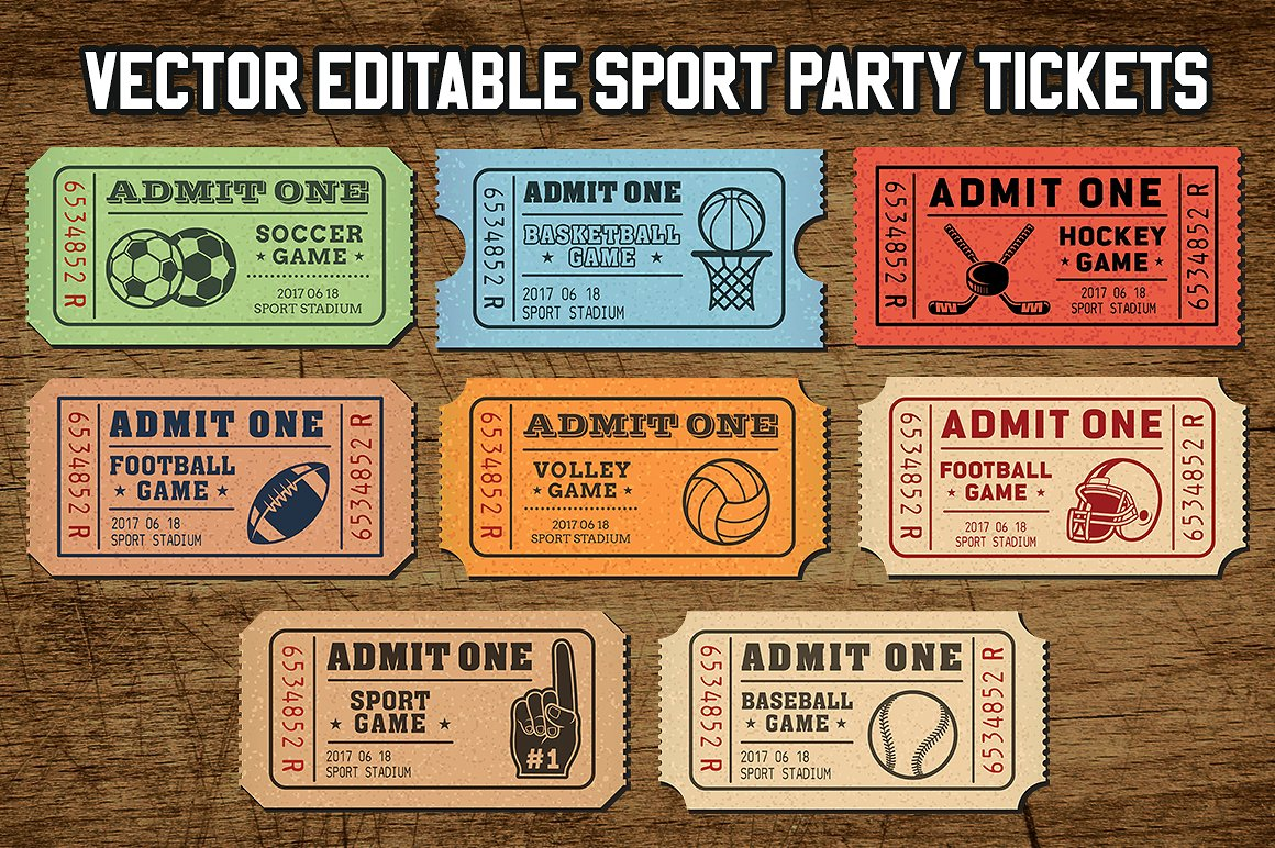 multipurpose basketball ticket invitation example