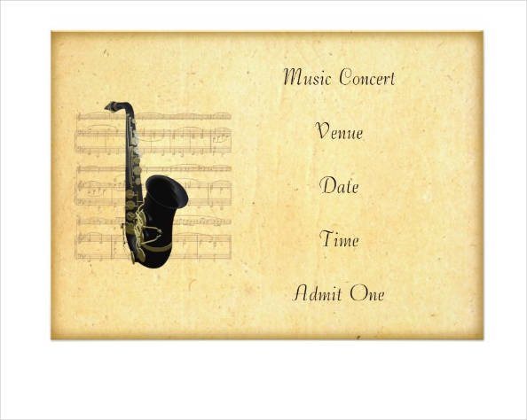 music concert admission ticket1