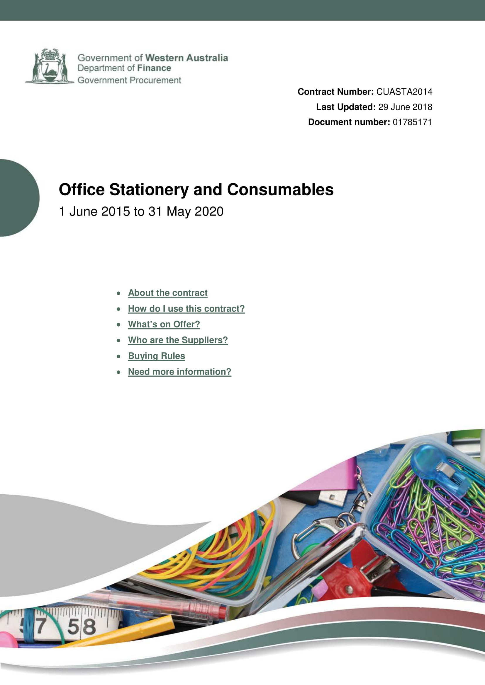 office stationery and consumables example 01