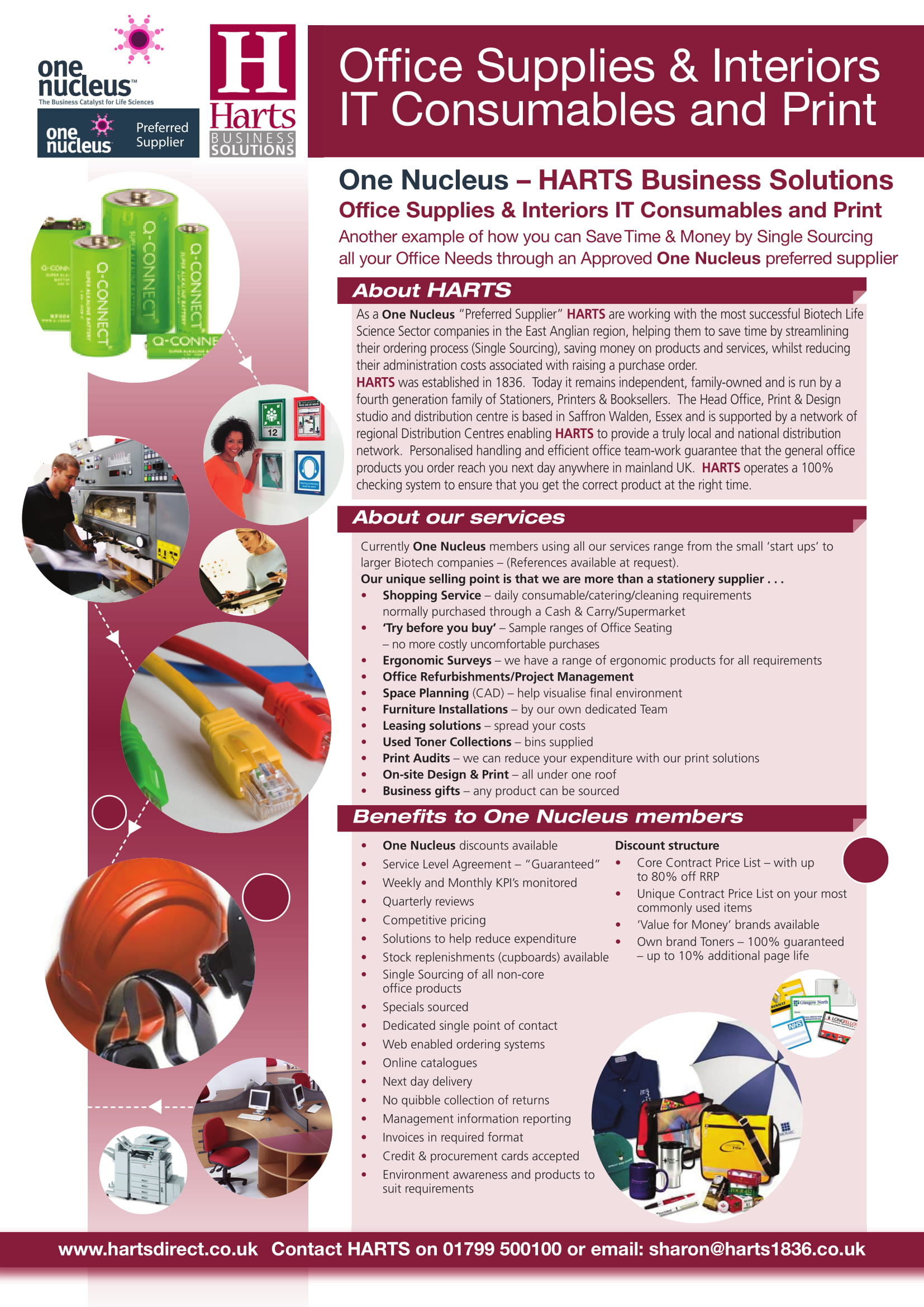 office supplies interiors it consumables and print example 1