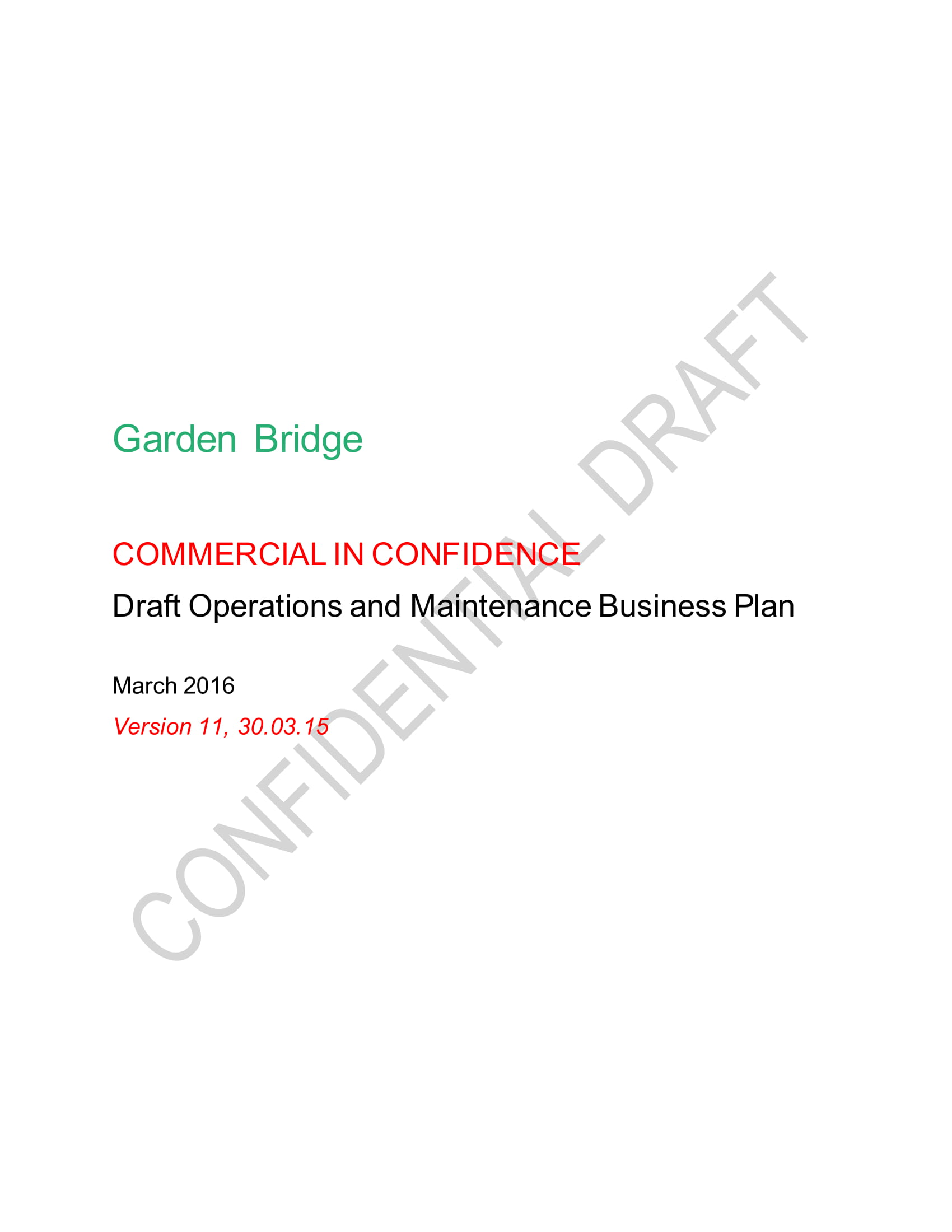 operations and maintenance business plan draft example 01