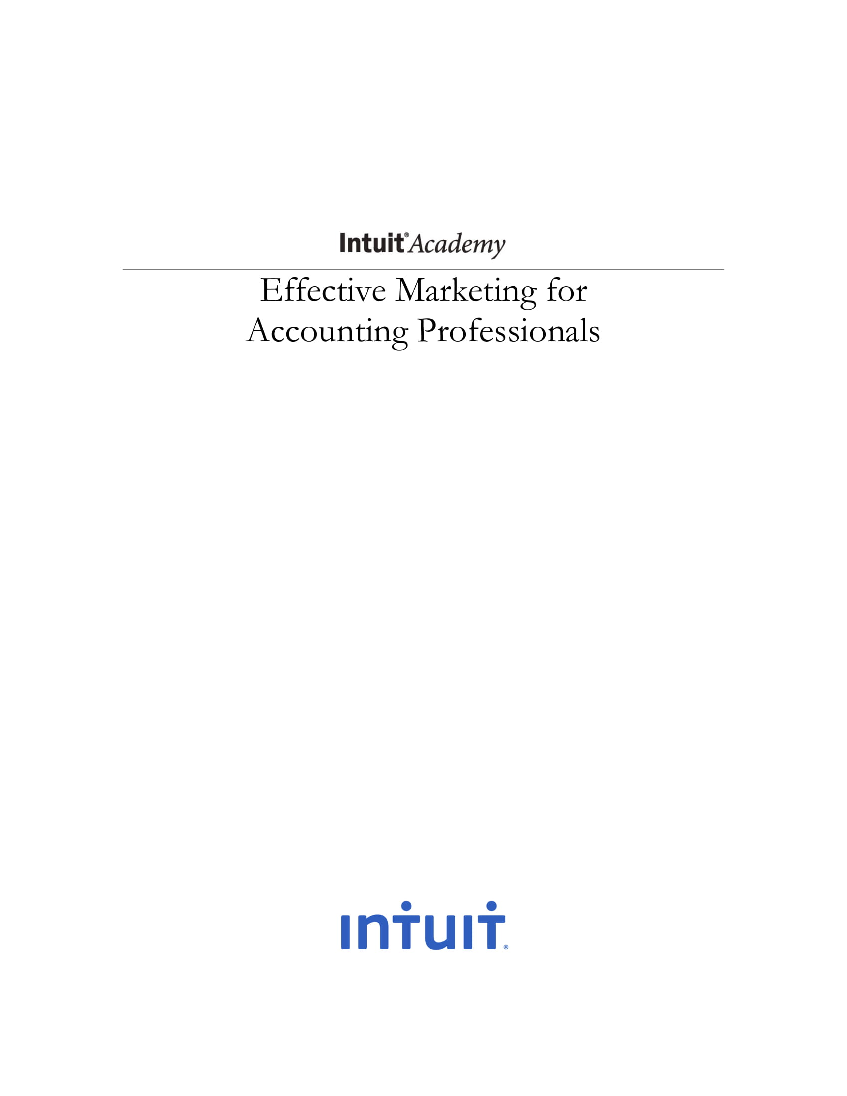 operative accounting firm marketing plan example