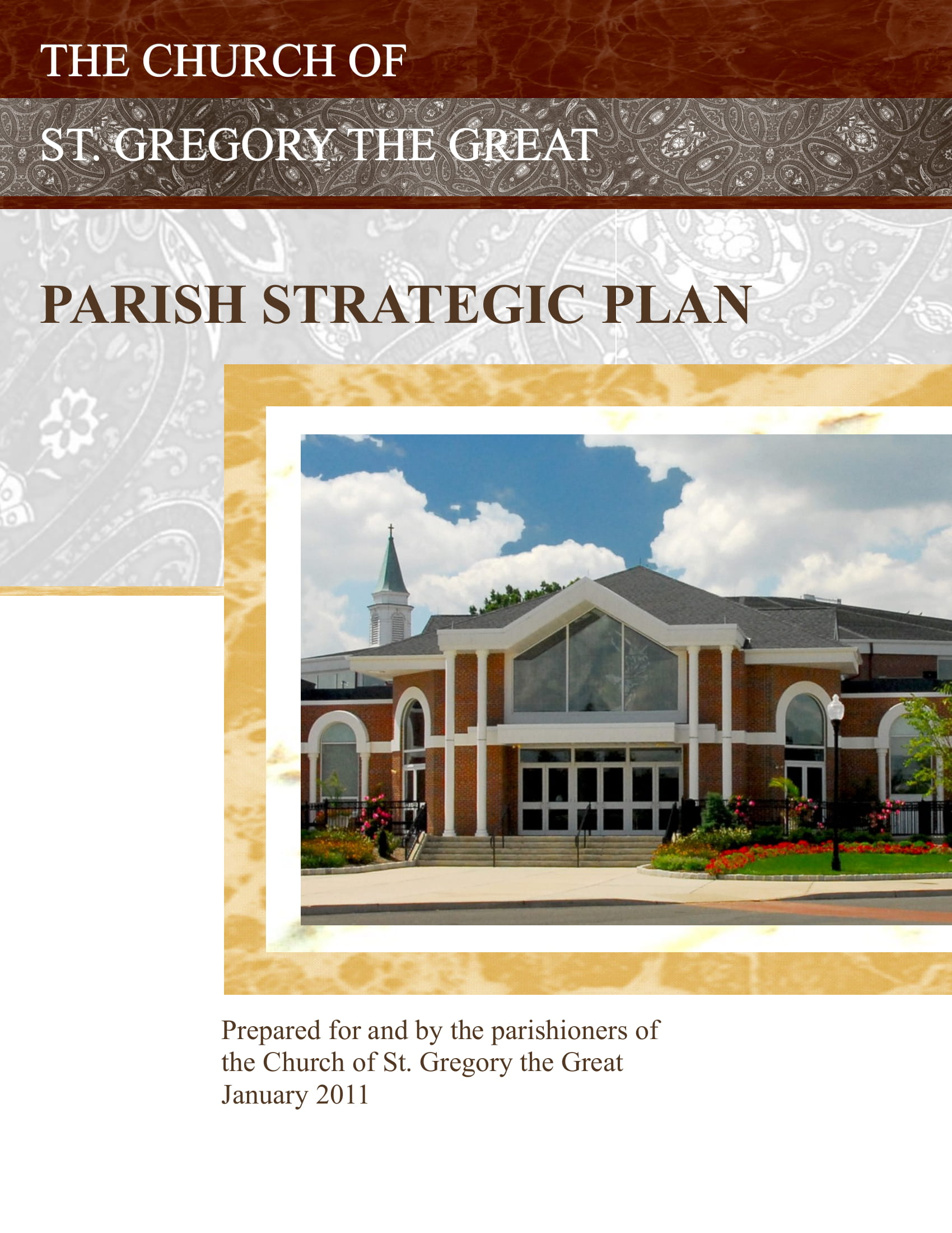 parish church strategic plan and marketing call to actions example 01