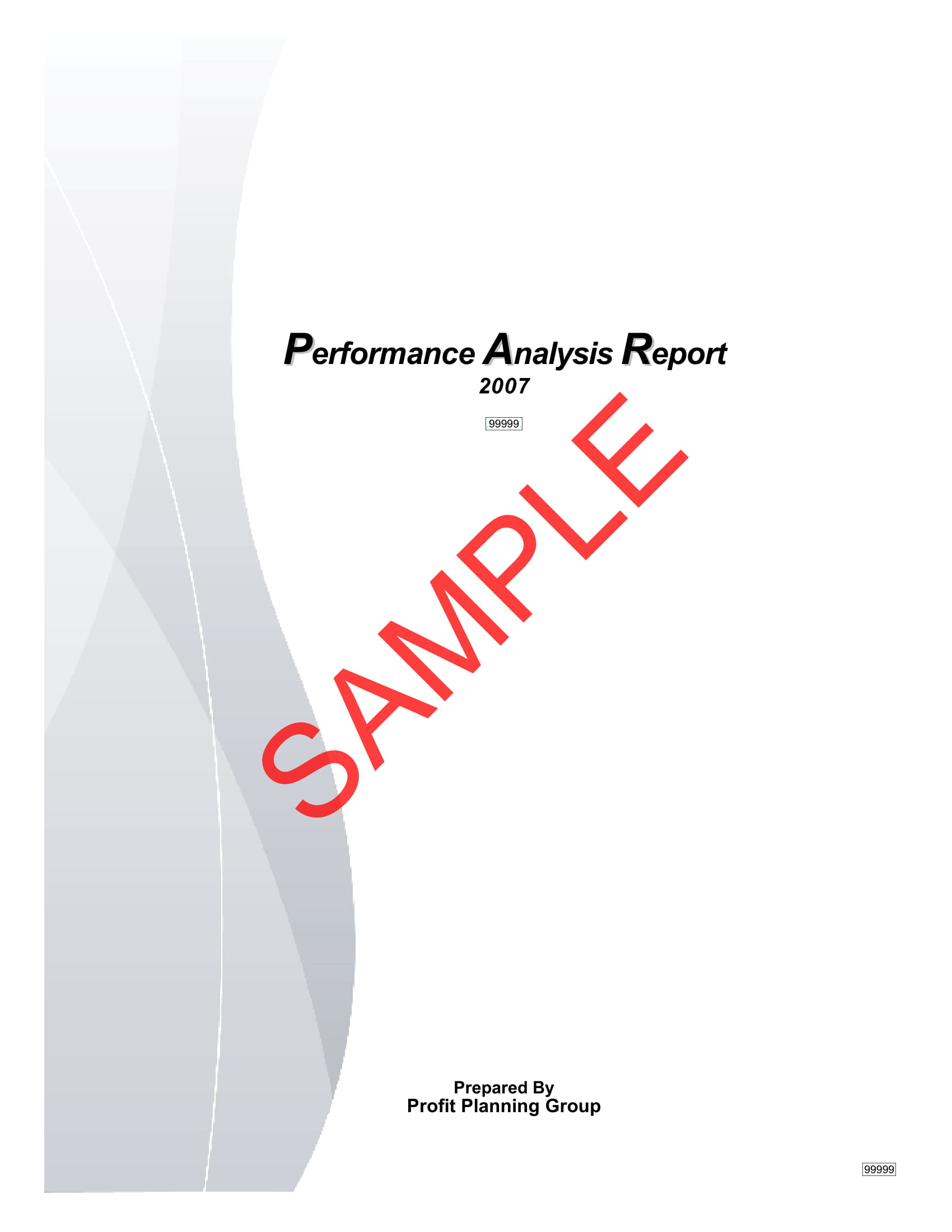 performance analysis report example 01