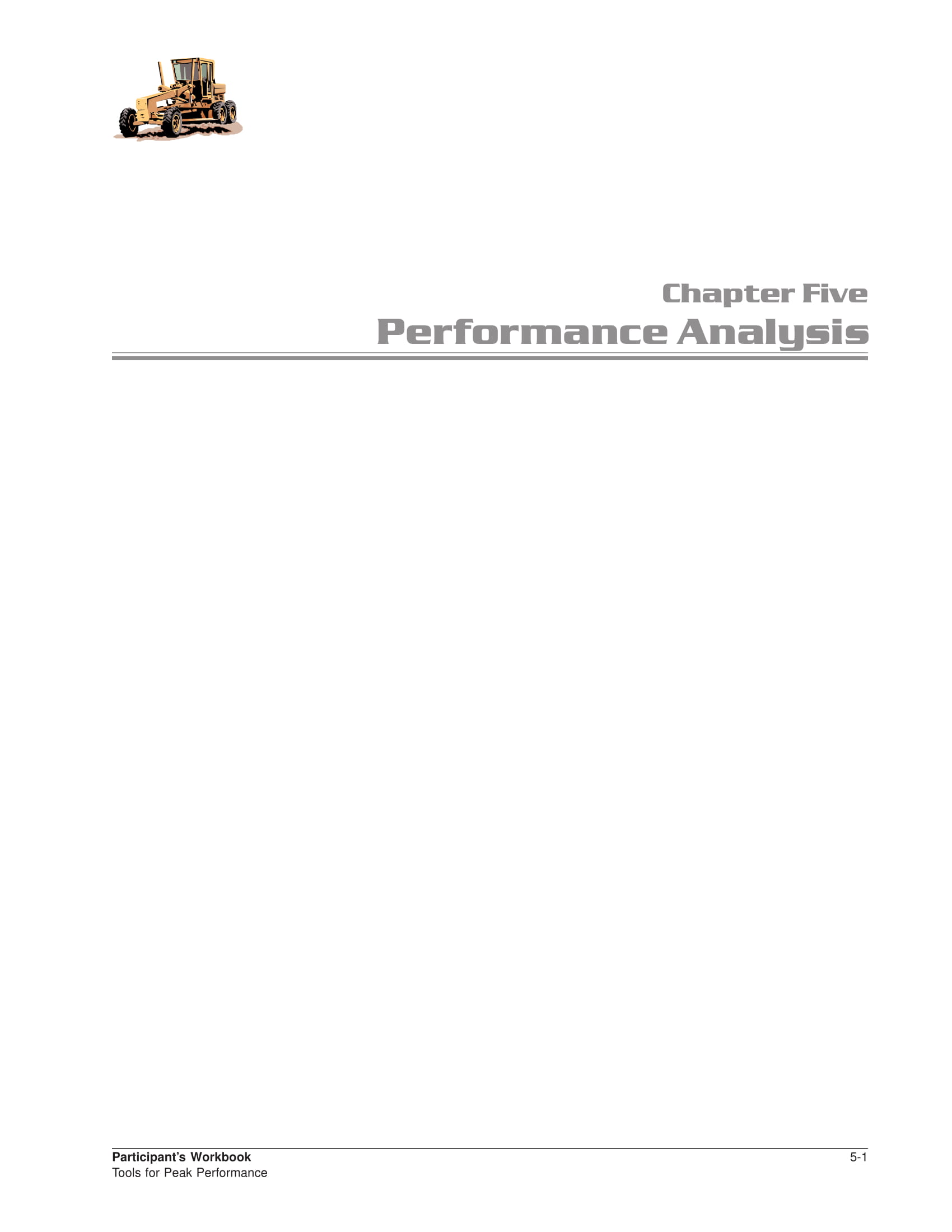 performance analysis report and guide example 01