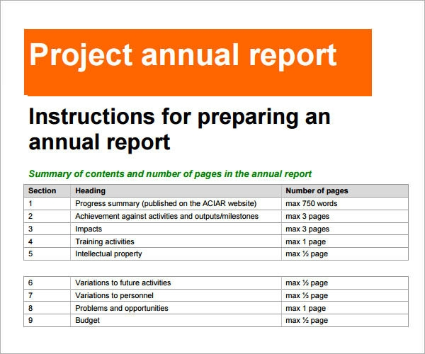 12 annual business report examples pdf word pages preparing an annual business report wajeb Choice Image