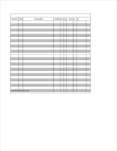 printable checkbook register example1