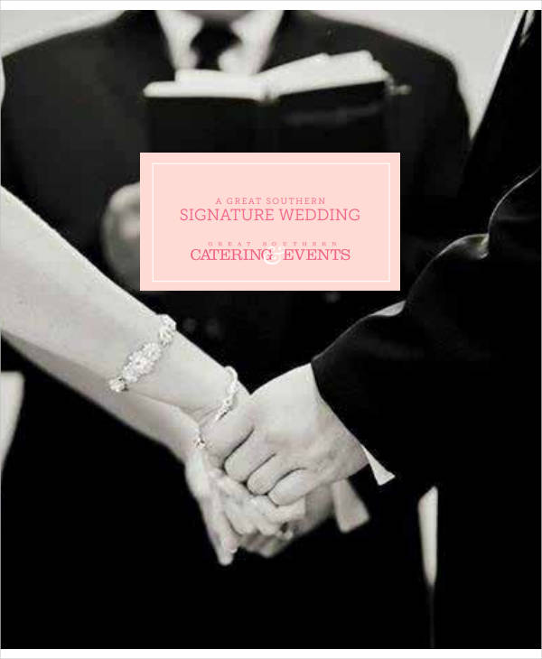 printable wedding planner email signature