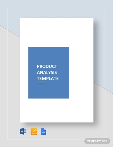 product analysis example