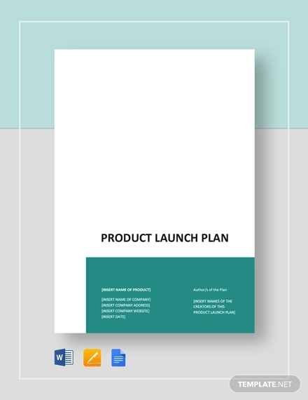 11  product launch marketing plan examples