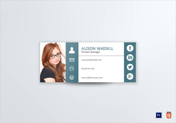 product manager email signature template1