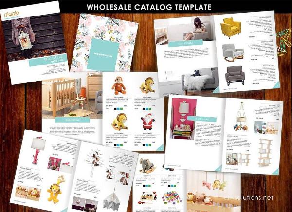 product wholesale catalog example