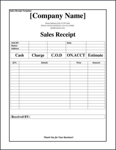 professional sales report example1