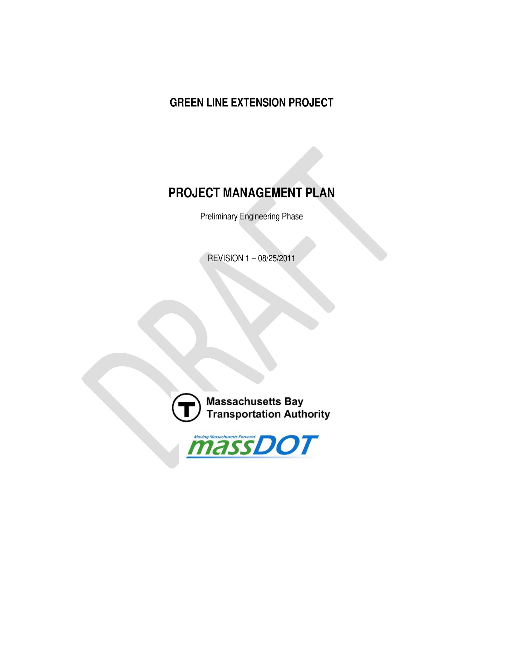project management plan draft template example 001
