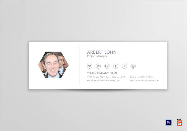 project manager email signature template1