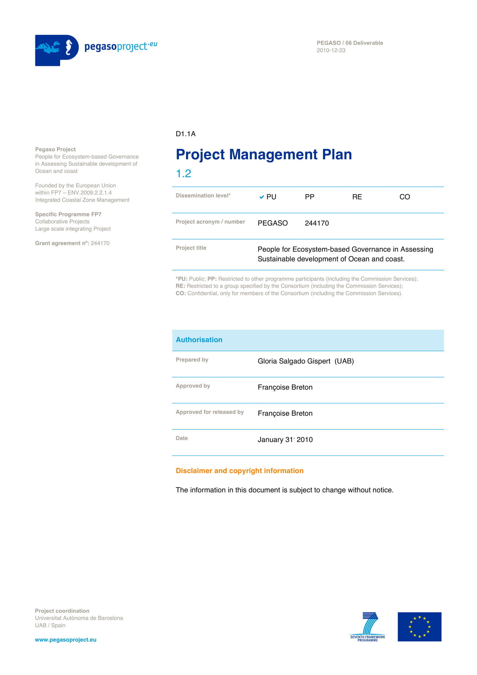 project operations management plan example 01