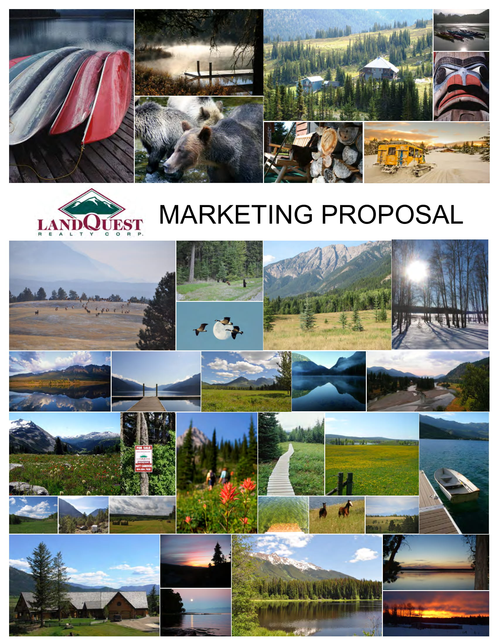 real estate marketing campaign proposal example