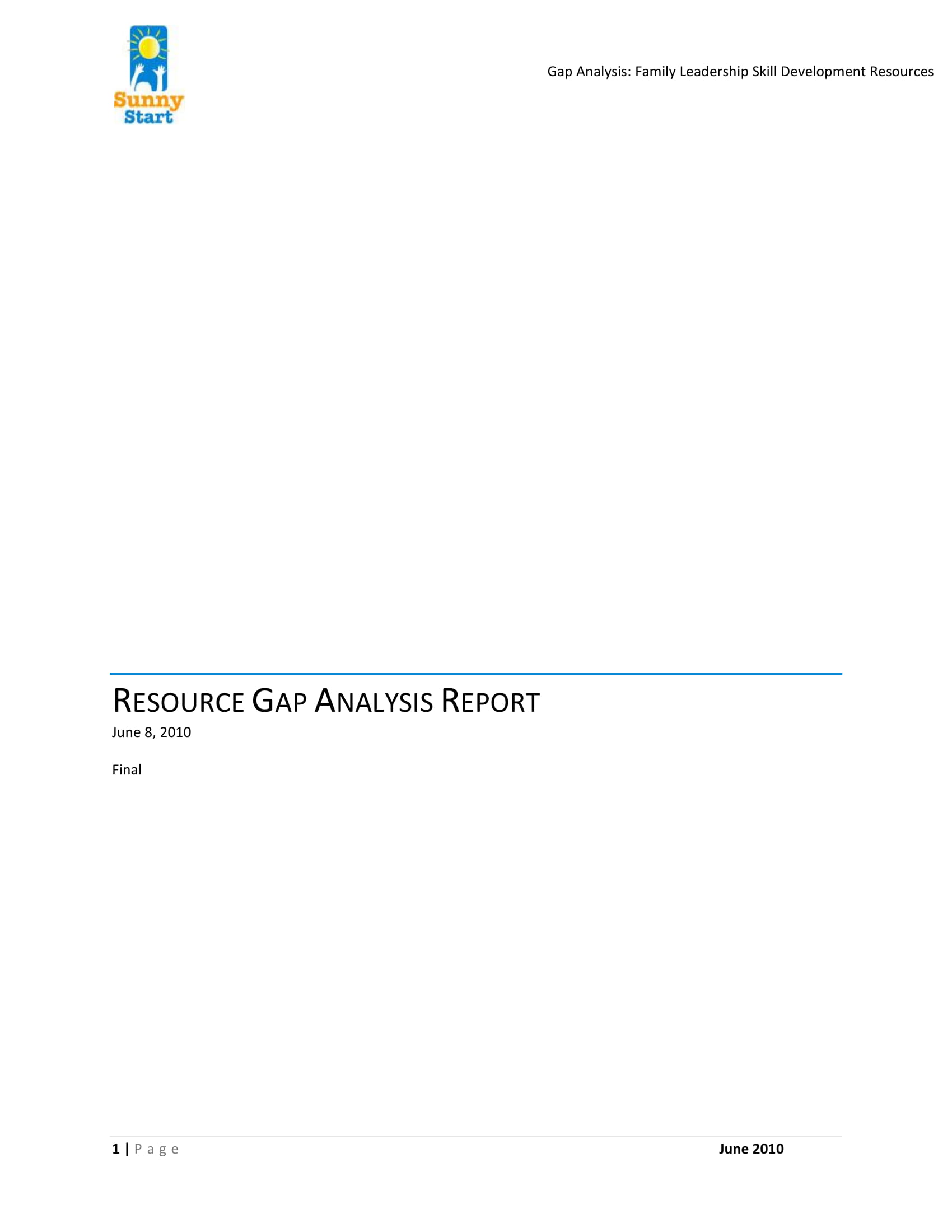 9+ Gap Analysis Report Examples - PDF | Examples