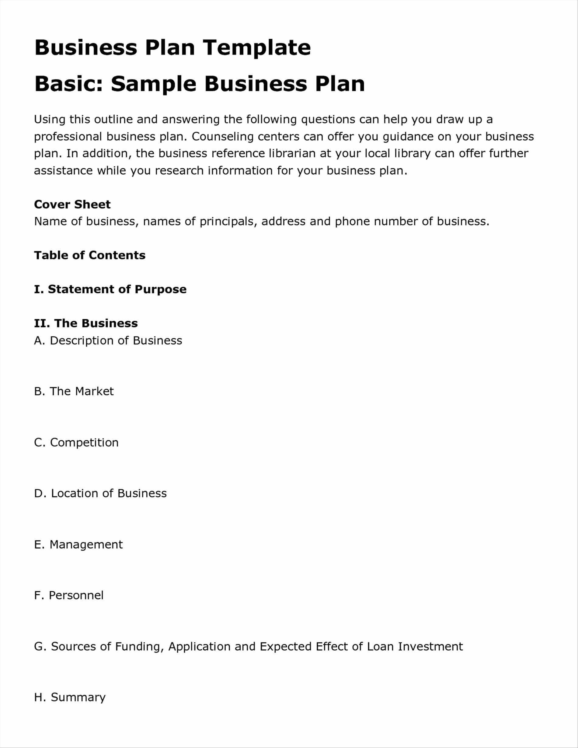 restaurant business operational plan example