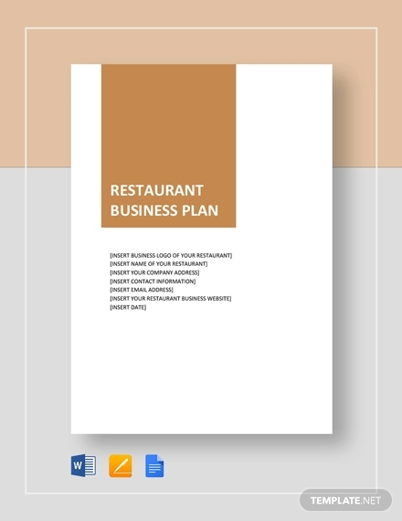 18 Restaurant And Catering Business Plan Examples Pdf