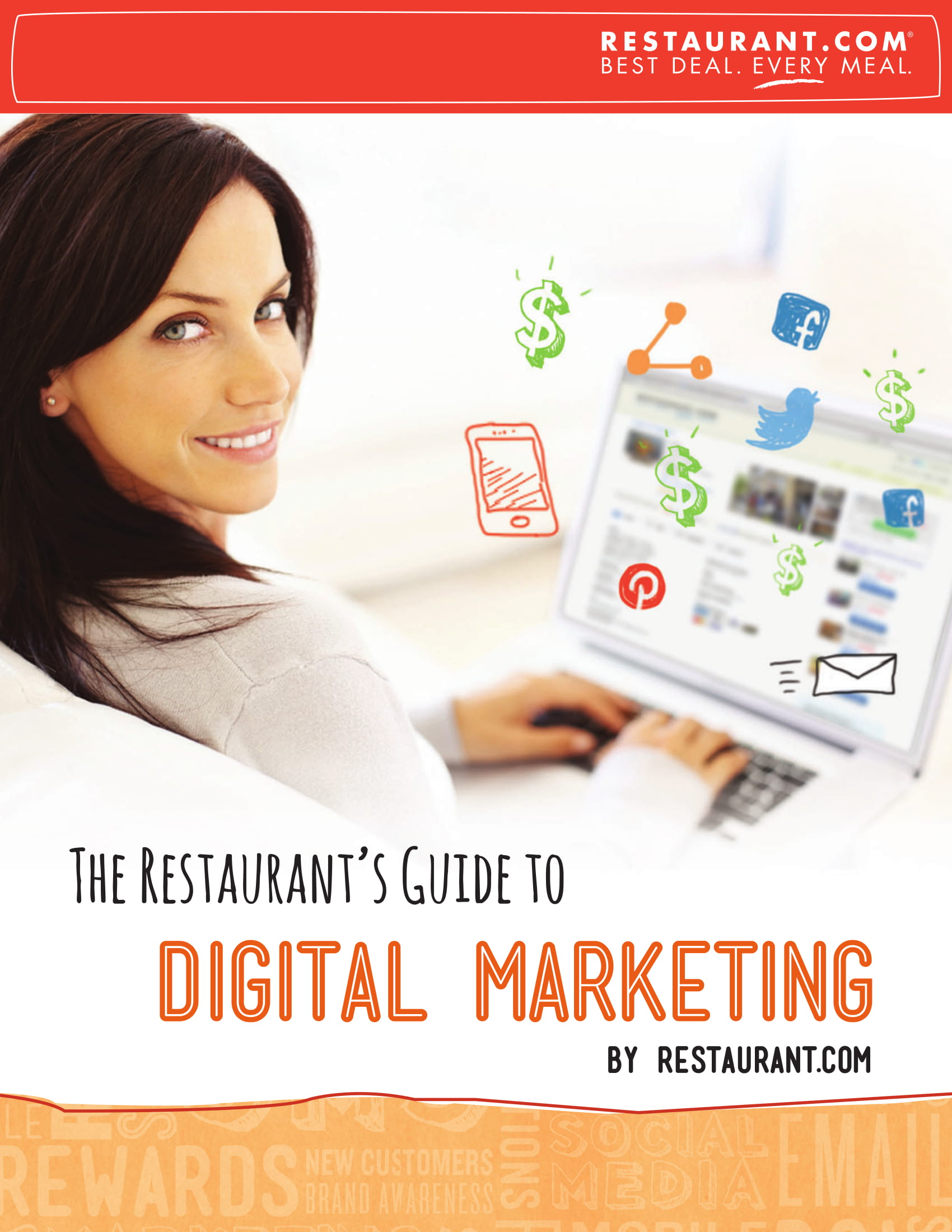 restaurant digital marketing and social media platform usage proposal example 01