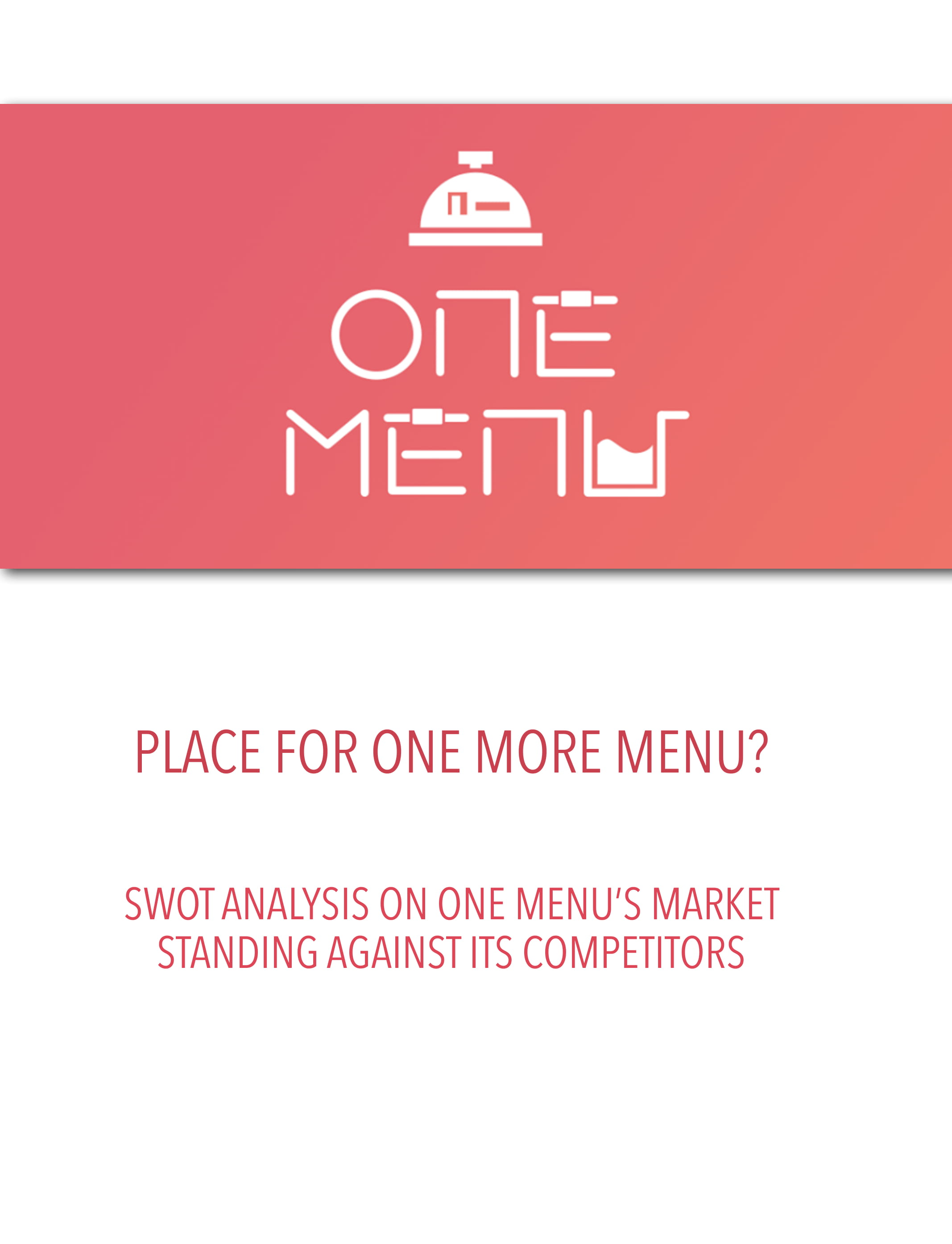 restaurant swot analysis example 01