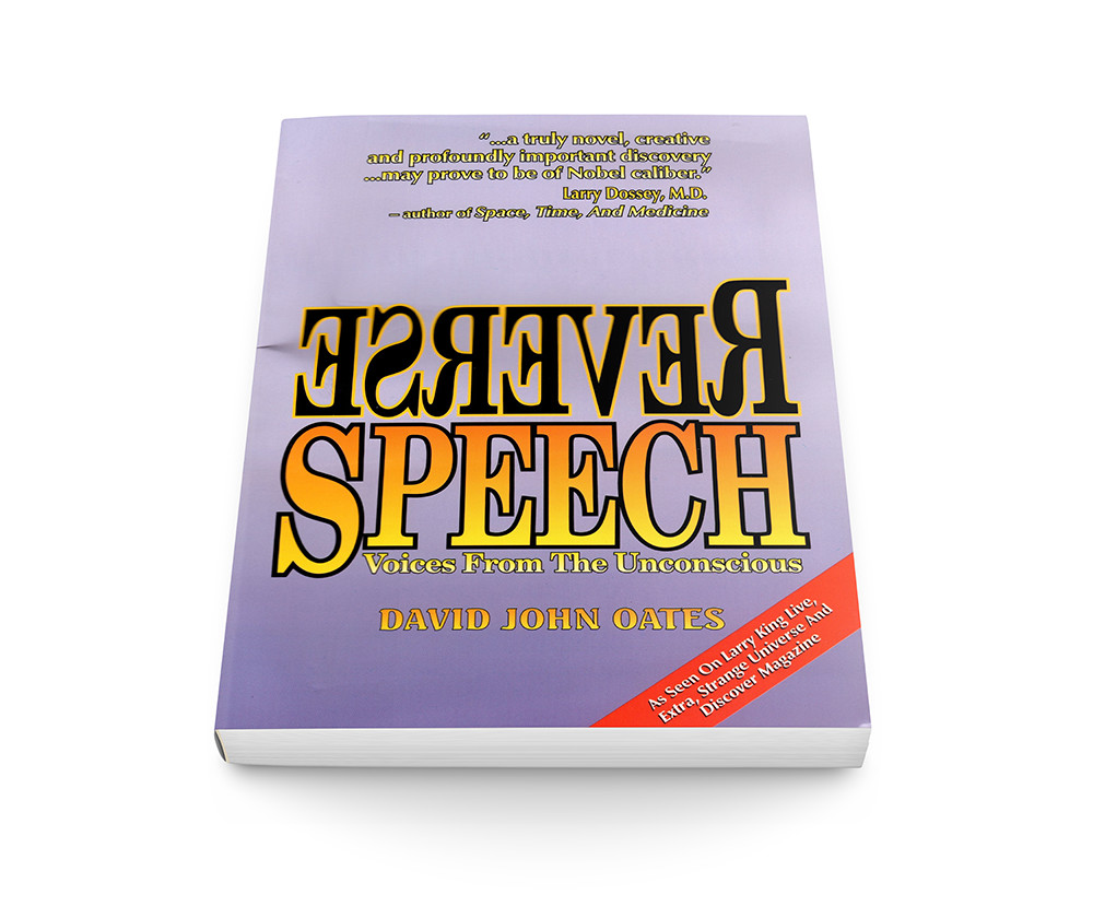 reverse speech book cover by david oates