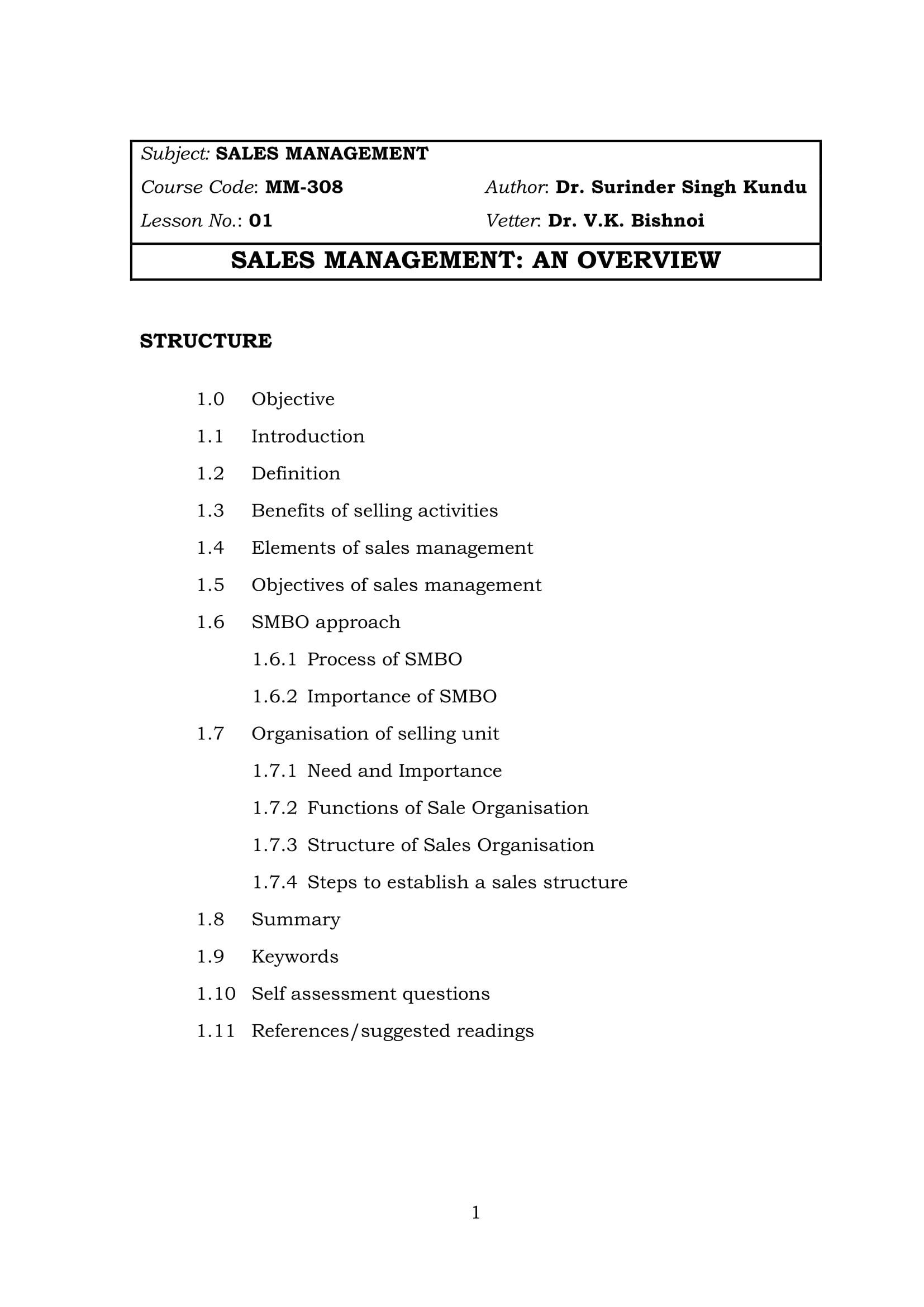 sales management plan for the personal usage of sales manager example 001
