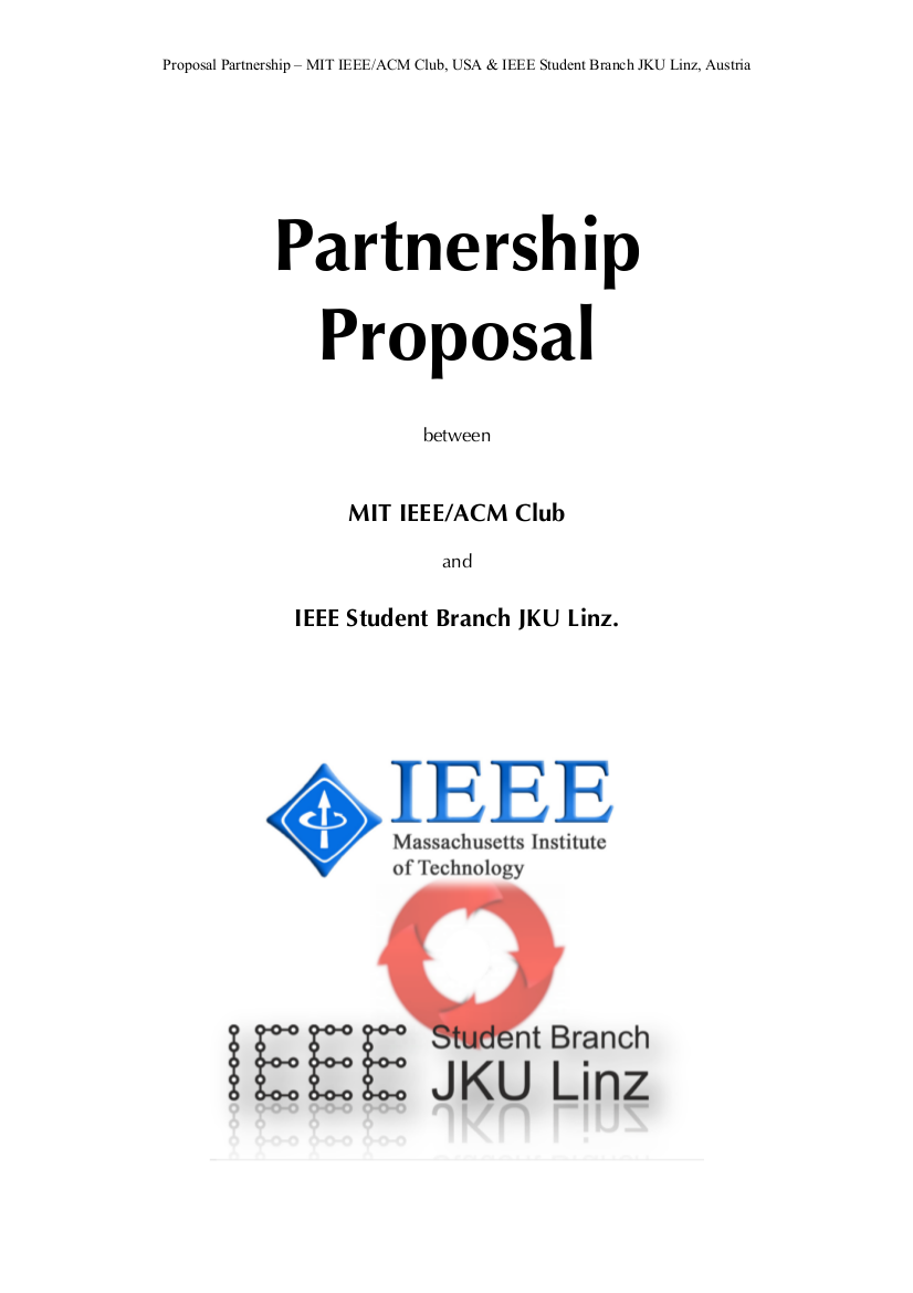 sample business partnership proposal
