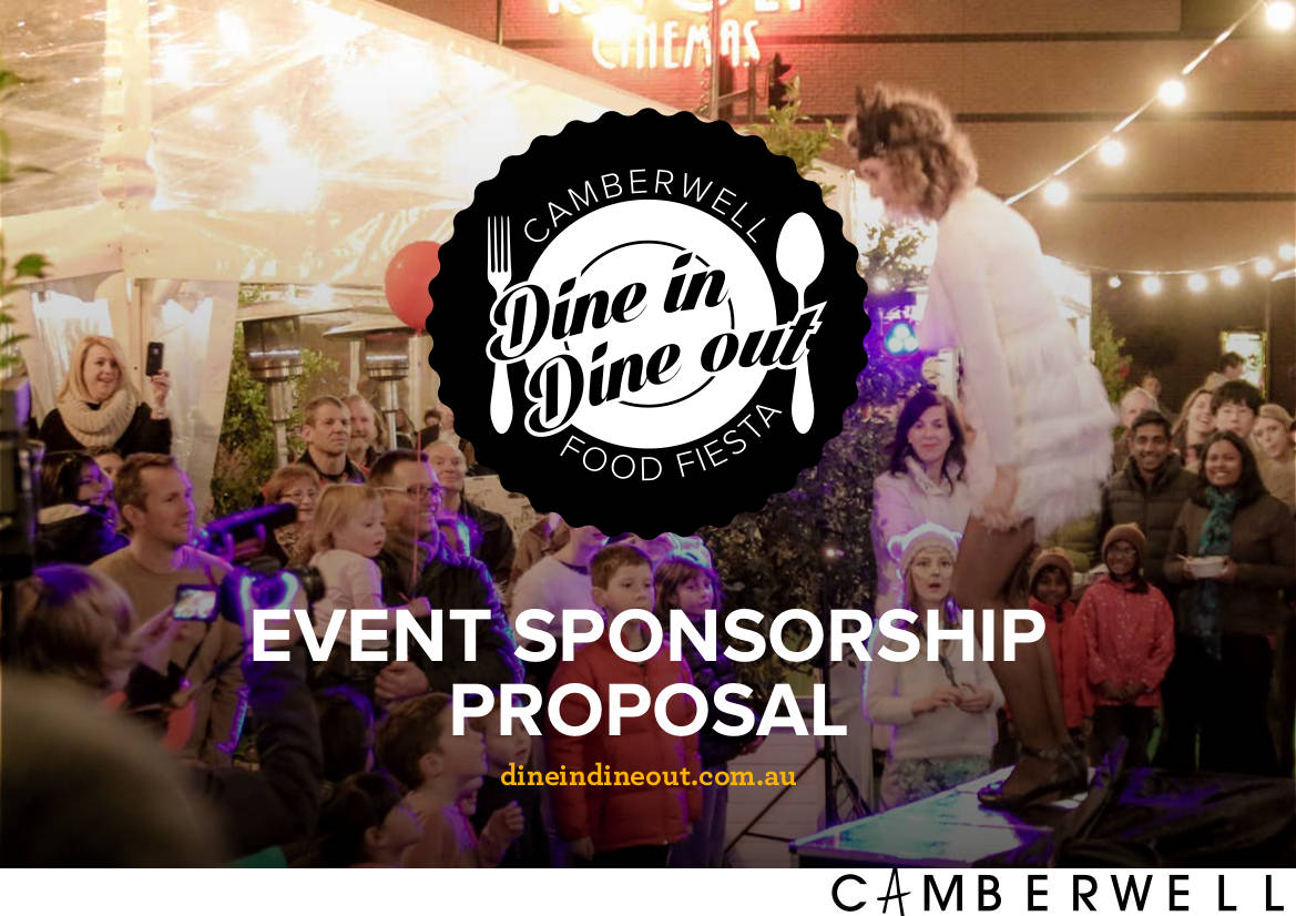 sample event sponsorship proposal example