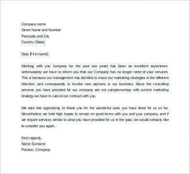 sample formal correspondence letter1