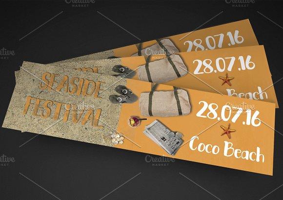 seaside festival event ticket