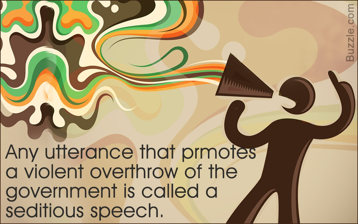 seditious speech defined