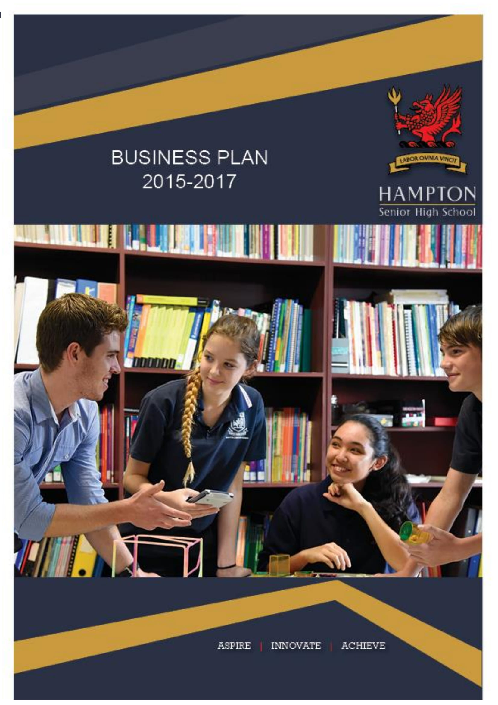 senior high school business operational and management plan example 01