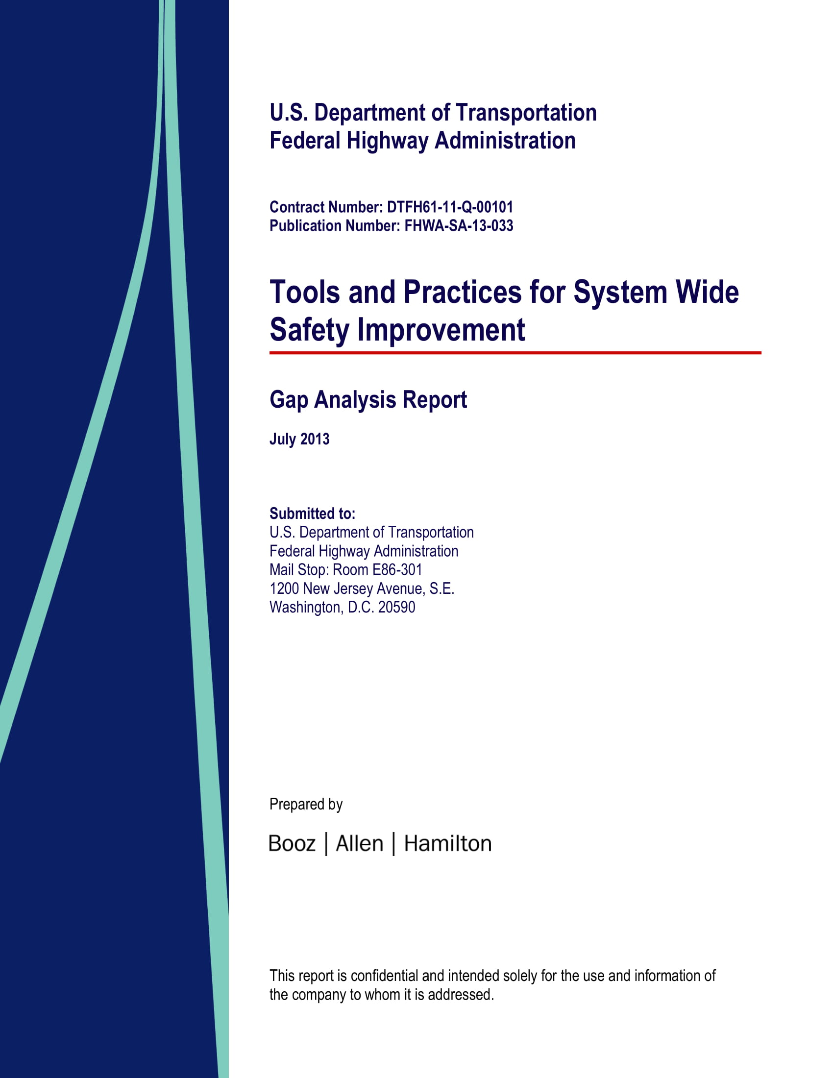 simple gap analysis report example 01