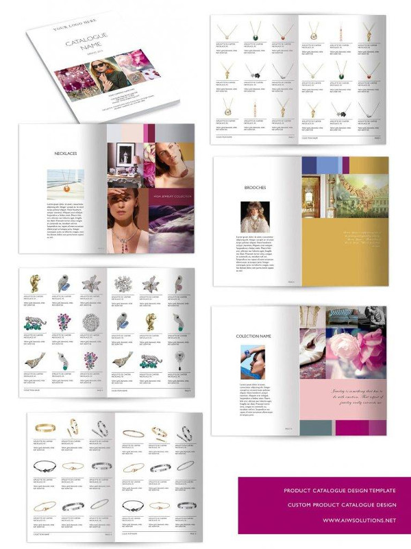 simple wholesale catalog template example