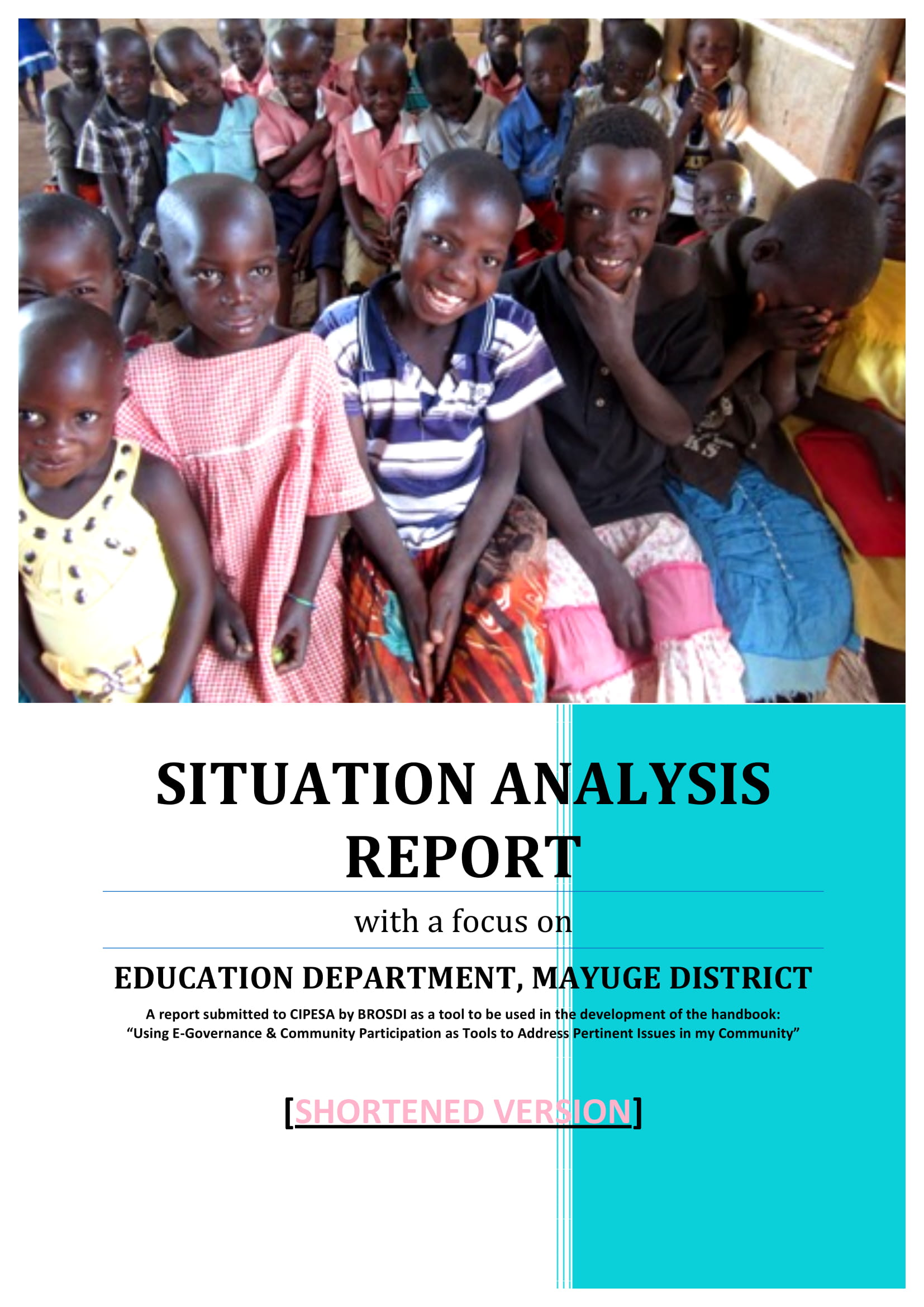 situation analysis report example 01