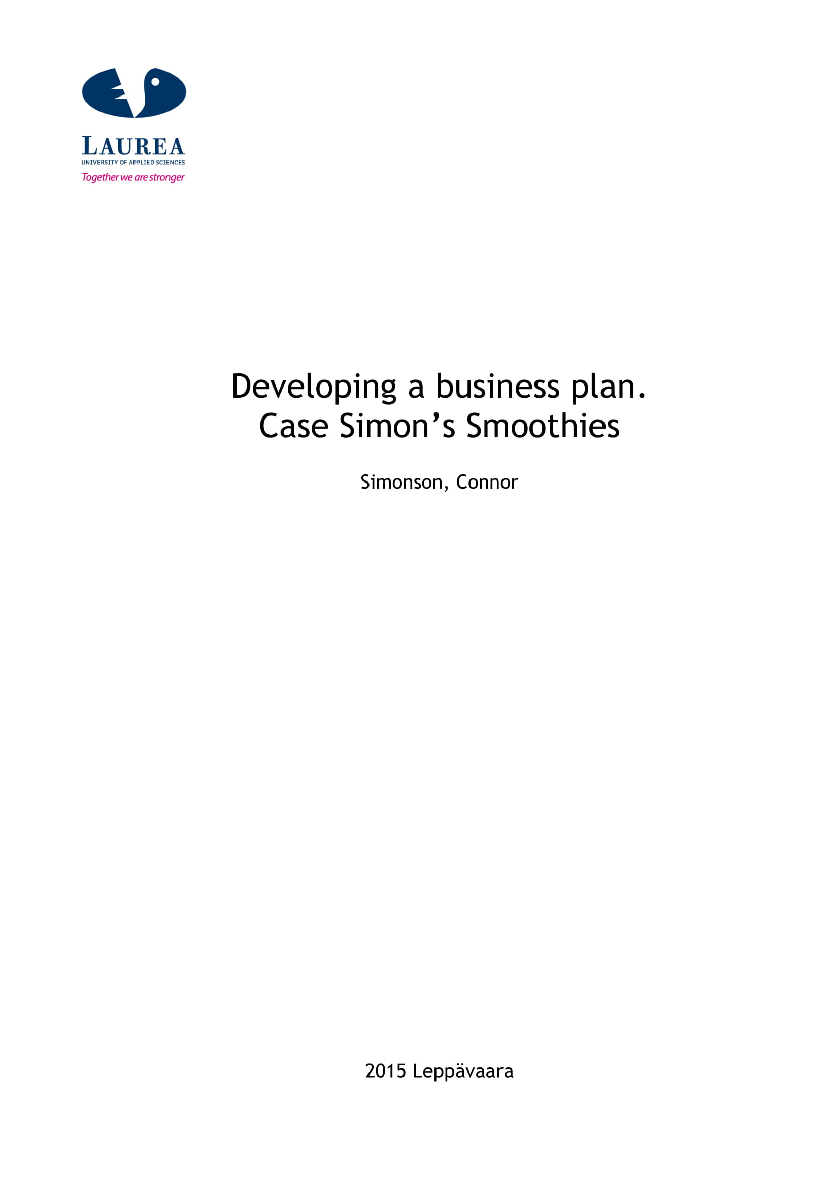 smoothies and juice bar business plan example 01