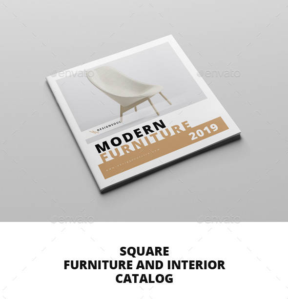 square furniture and interior catalog example1