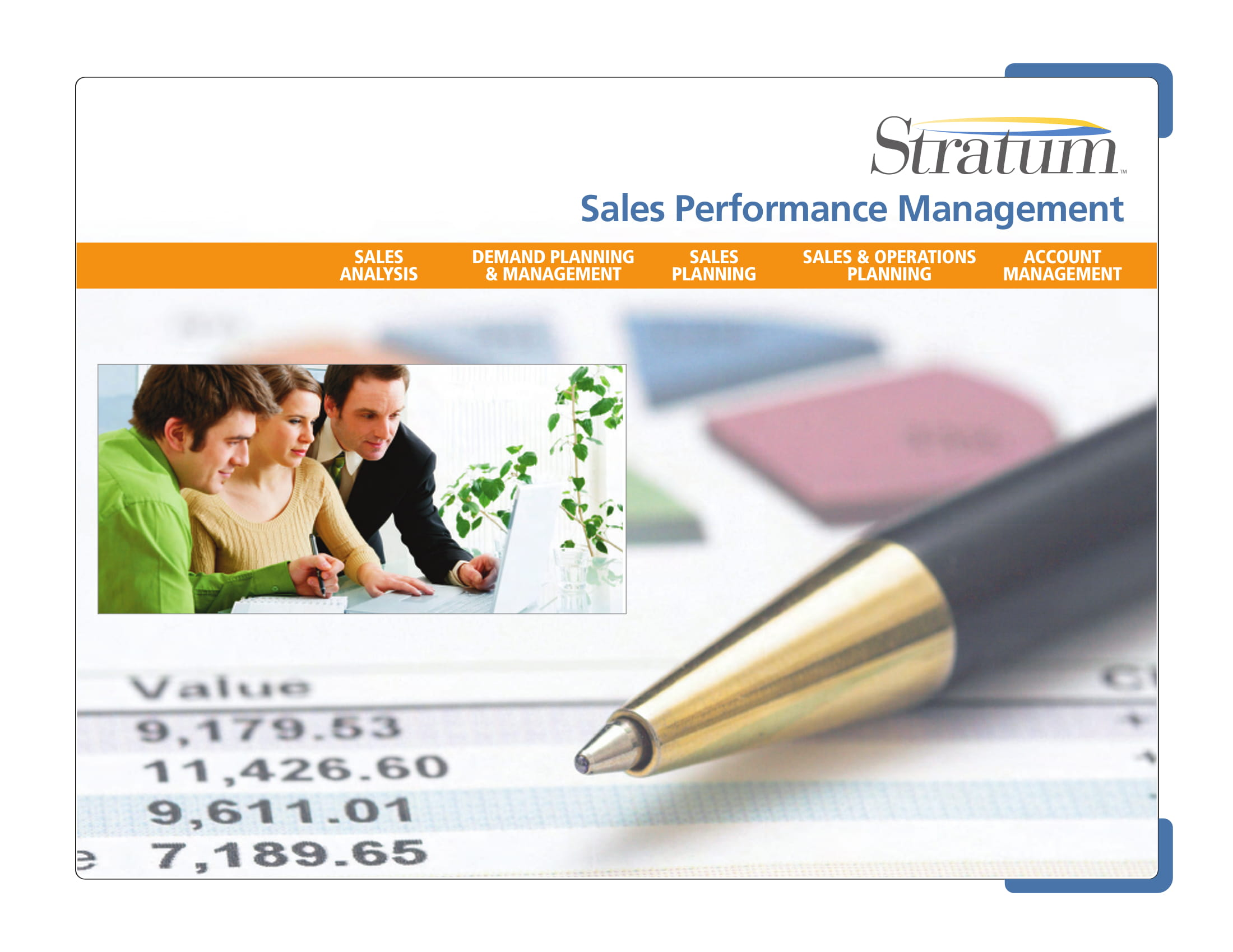 standard annual sales report example
